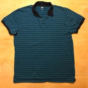 Old Navy Men's collared striped shirt.